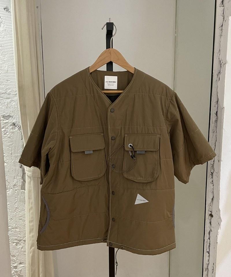 AWD0237 T/C alpha SS shirt 防潑水鋪棉短袖罩衫 (附近)