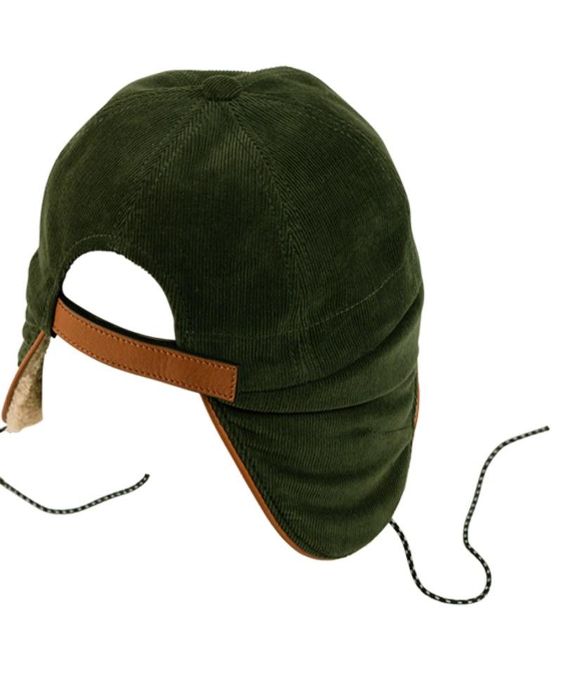 BTC2327 Chapki Corduroy&Fleece 刷毛飛行帽