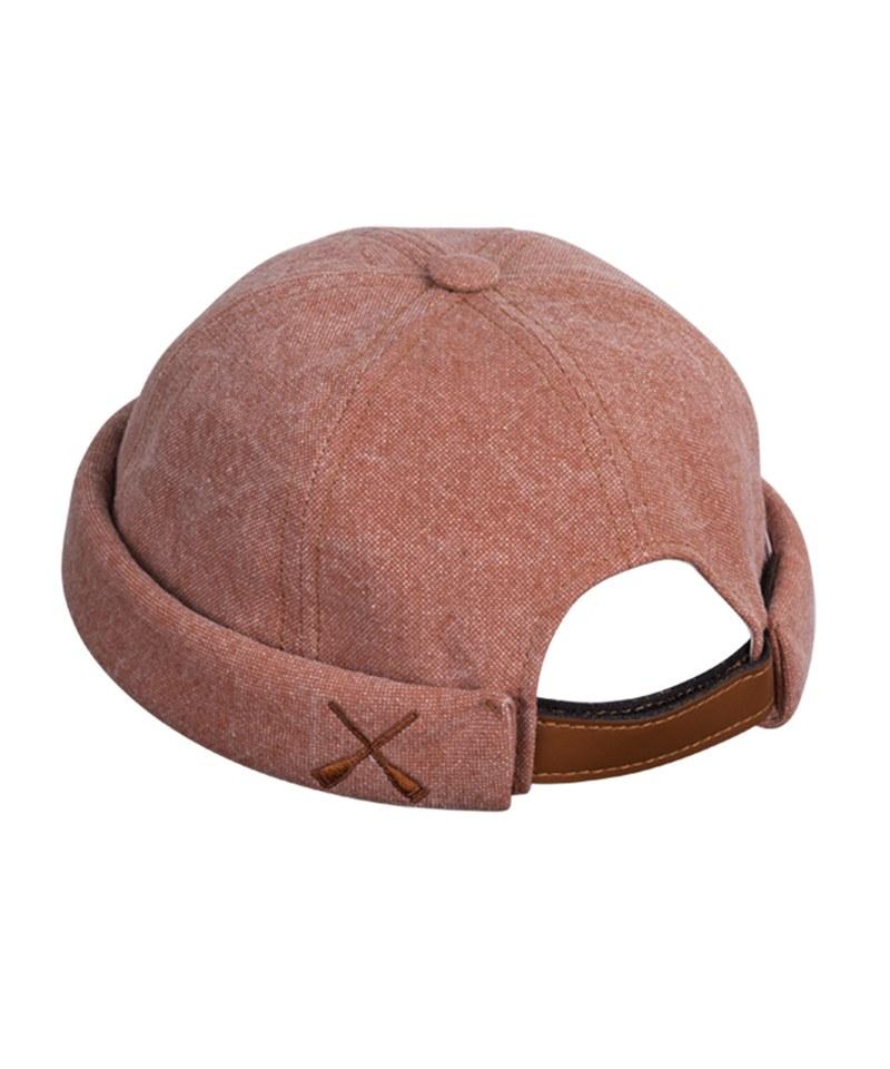 Miki Canvas 帆布水兵帽