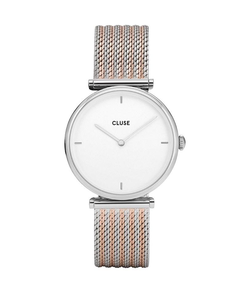 CLU9921 CL61001 Triomphe Silver 荷蘭簡約手錶