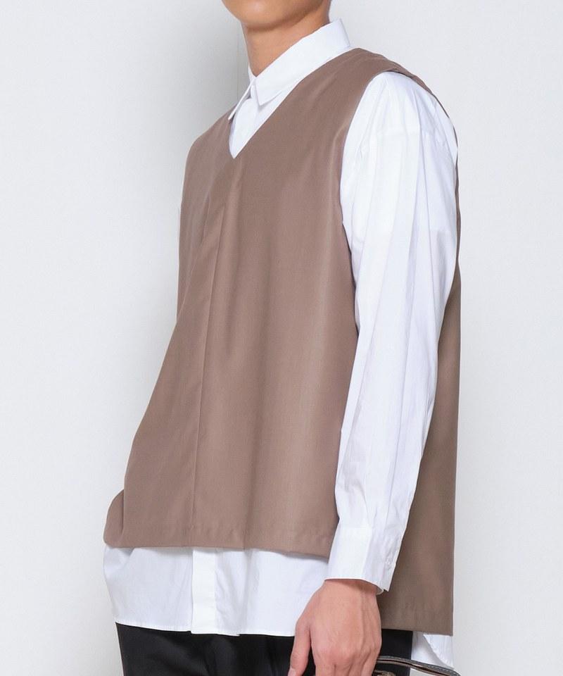 COP0165 V領套頭背心