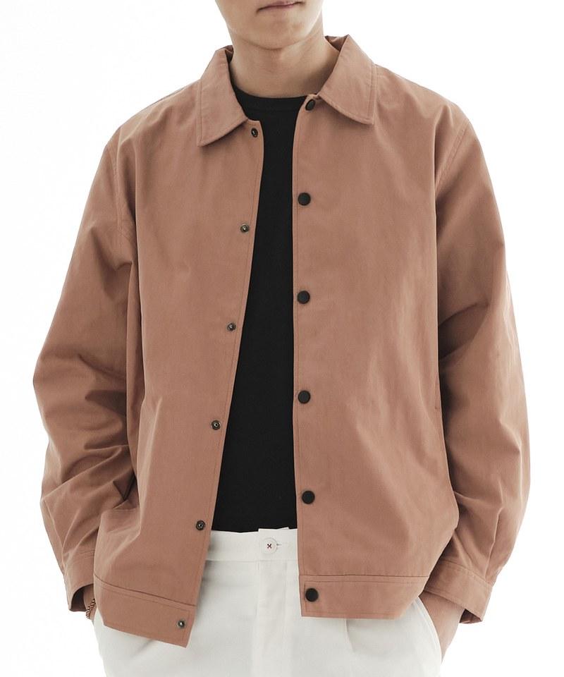 COP11100 棉質混紡教練外套