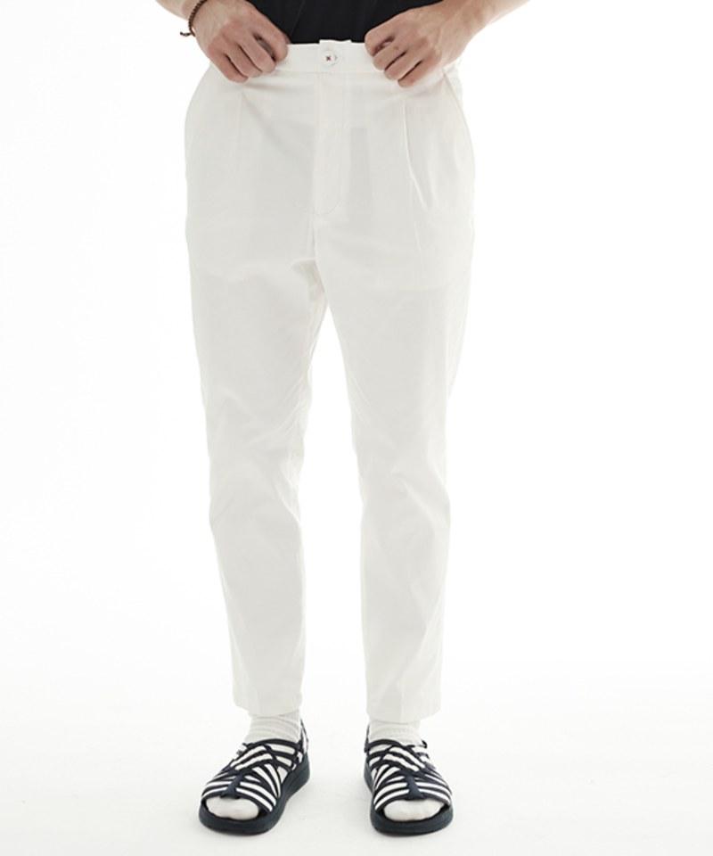 COP1688 1616 彈性打褶長褲