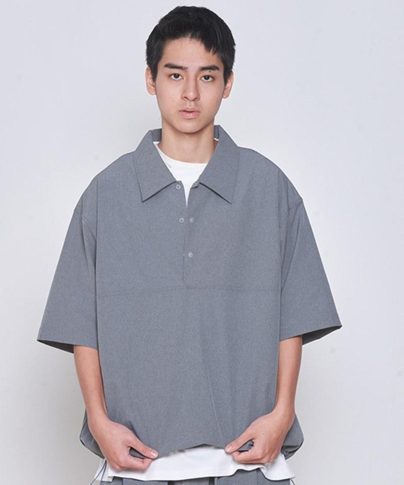 COP33153 吸濕快乾短袖套頭襯衫