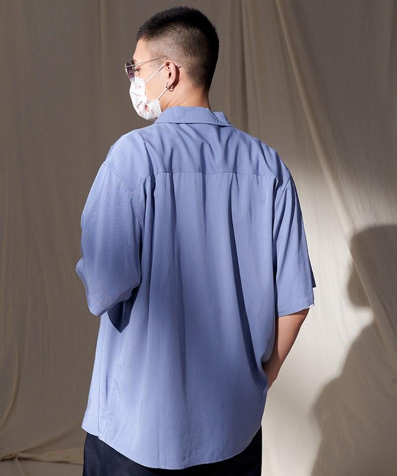 COP33155A 親膚棉感短袖襯衫