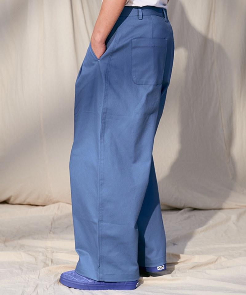 COP4068 斜紋立體錐形氣球寬褲