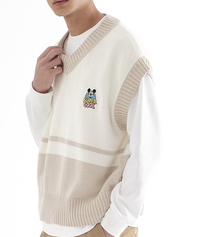CRV0301 Mickey 毛衣背心