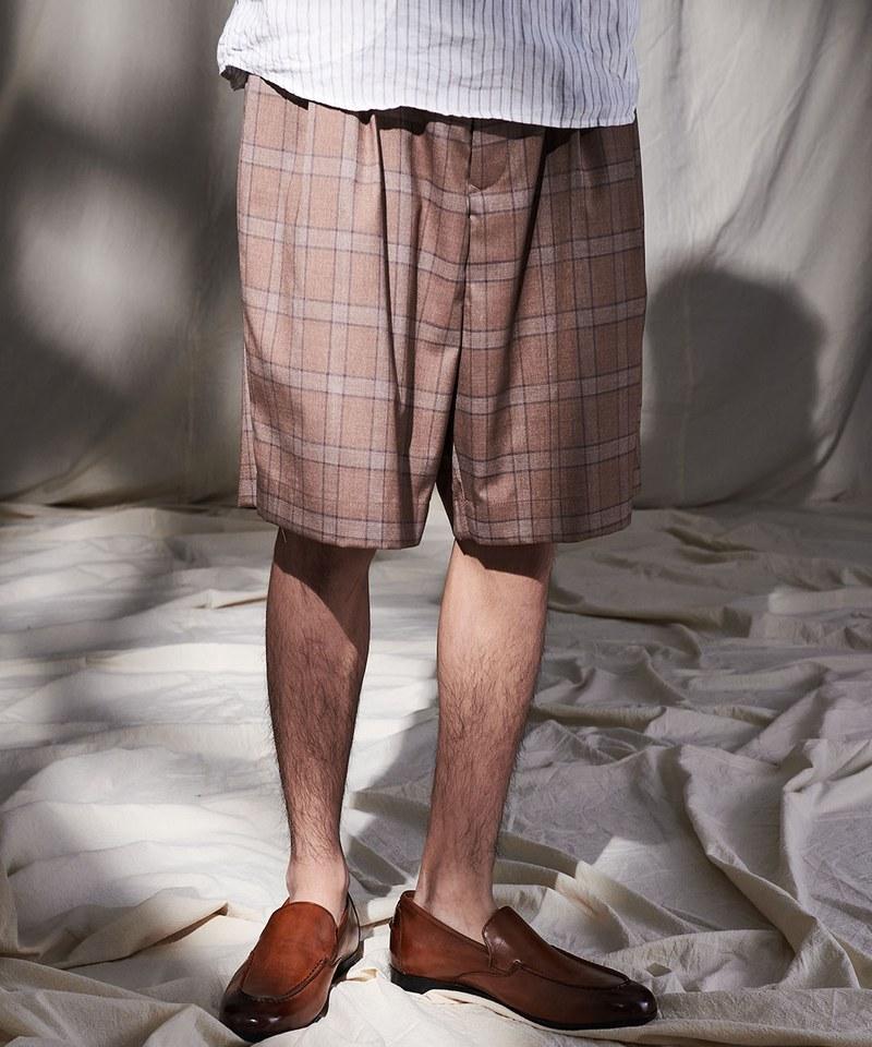 CRV1705 pierre cardin x plain-me 西料寬版短褲