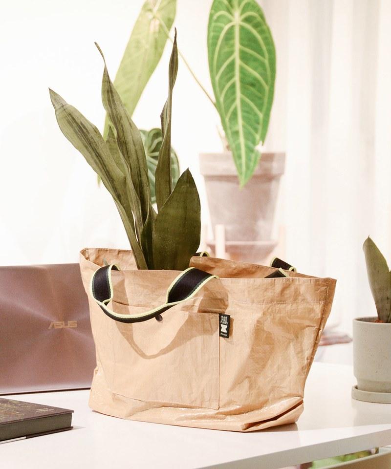 PLANT MORE PLANTS聯名植栽購物袋