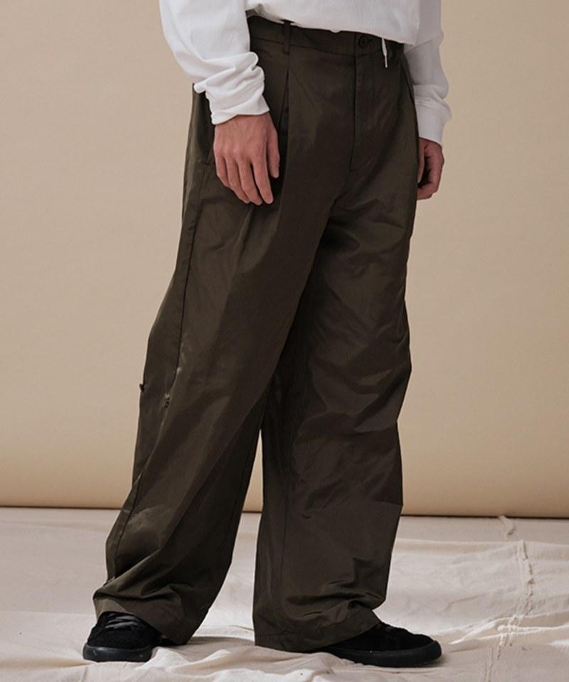 CRV4010 mouggan X plain-me防潑水側釦直筒長褲