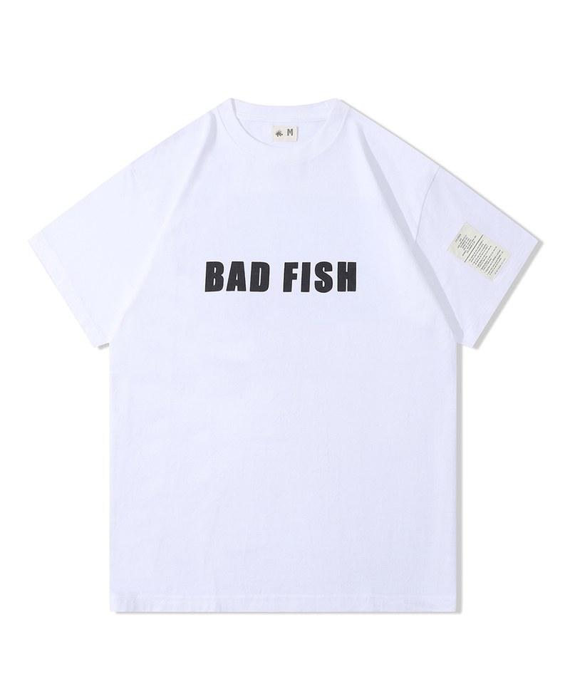 CSB0004 Bad Fish Tee 純棉獅子魚短T