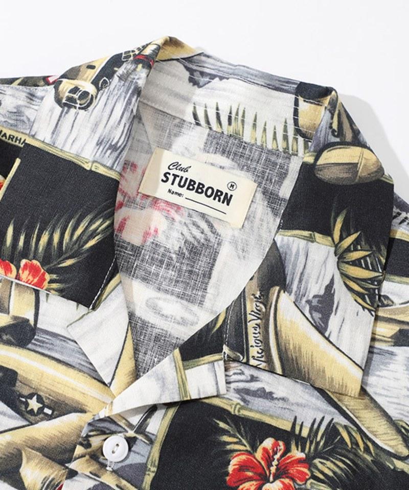 CSB0209 Souvenir Shirt 棉麻開領襯衫