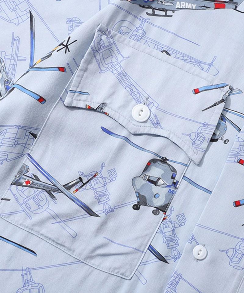 CSB0211 棉麻開領襯衫 Souvenir Shirt 2.0