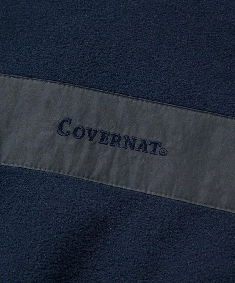CVN0007 FLEECE MIXED HALF ZIP-UP 拉鏈領刷毛衛衣