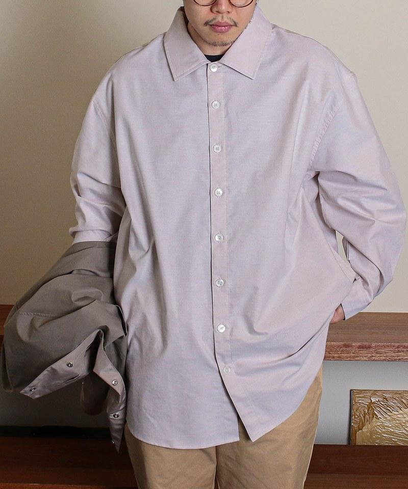 DRNM for PLNM Big Sleeve Shirts 聯名寬襯衫