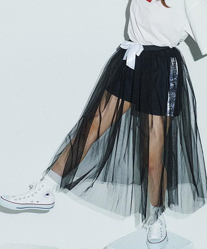 FVO1701 長紗裙短褲組