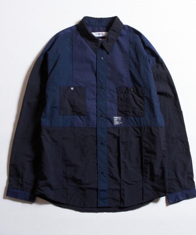 FDM0251 PATCHWORK SHIRT 布料拼接襯衫 (附近)