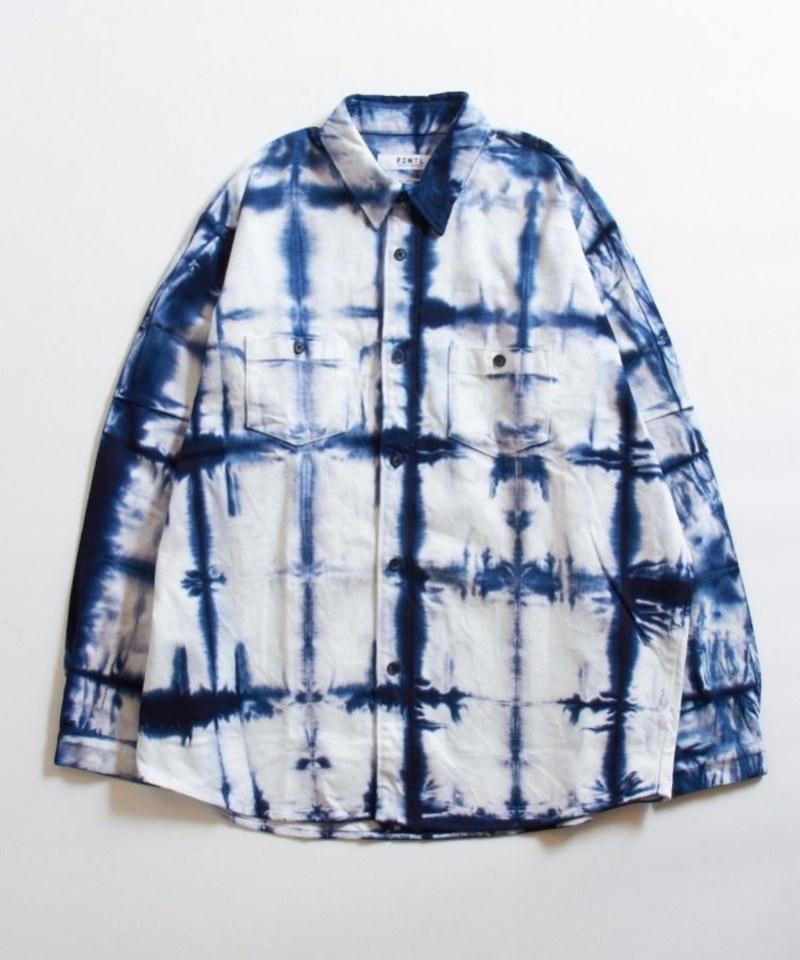 FDM0256 TIE DYE OVERSIZED SHIRT 落肩扎染寬鬆襯衫 (附近)