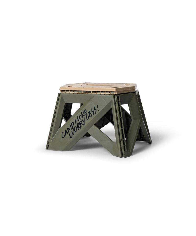 Naughty Camp Portable Folding Chair - Small拼色手提摺合椅-矮