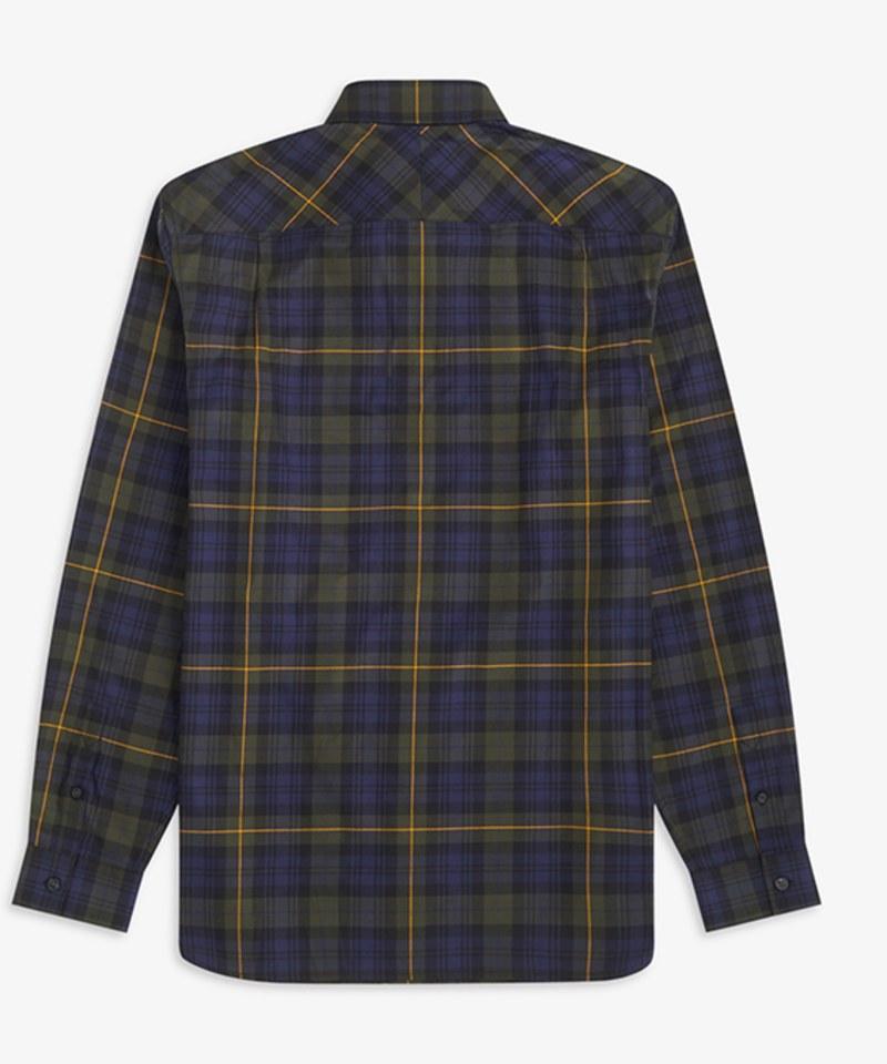 FRP0209 M9639 BRUSHED TARTAN SHIRT 刷毛格紋襯衫