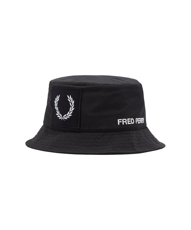 FRP99131 HW1653 LAUREL WREATH BRANDED BUCKET HAT 月桂冠LOGO布標設計漁夫帽