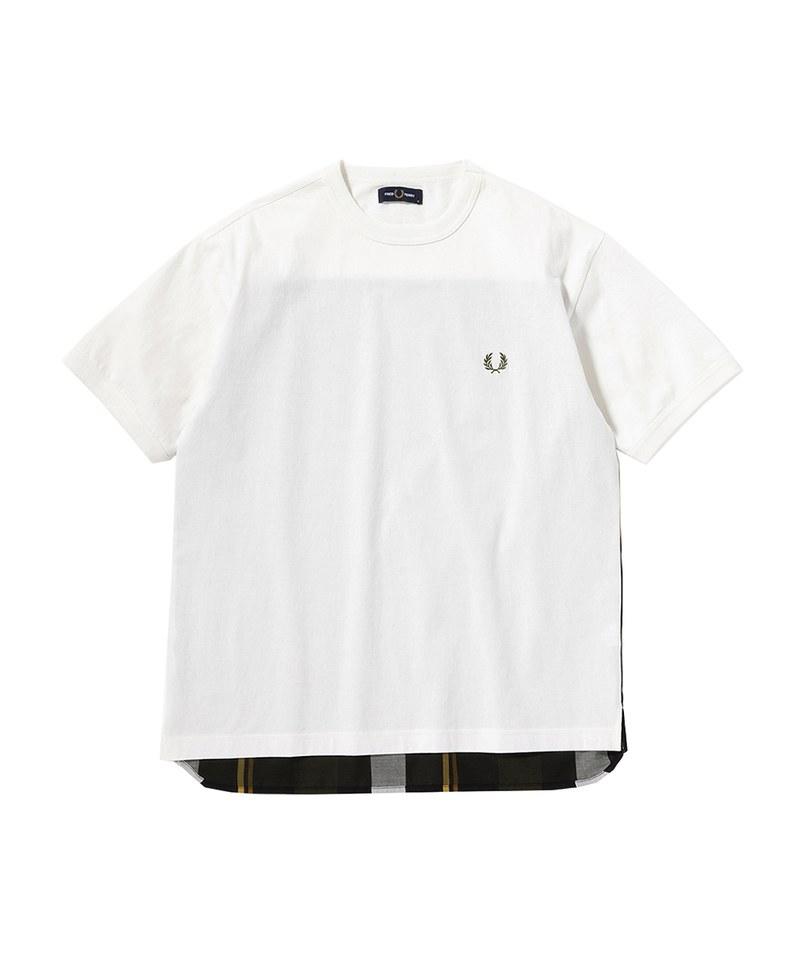 FRP99149 F1874 後身直紋拼接棉質上衣 PANELLED STRIPE TEE SHI