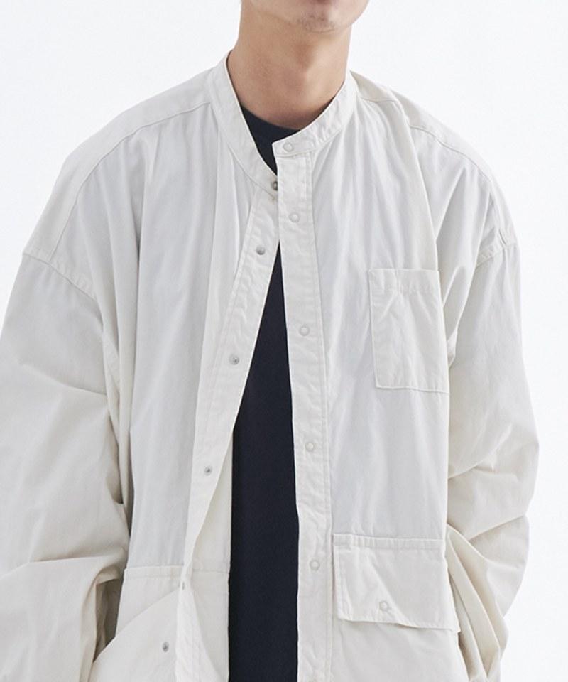 FSV0202 CARGO POCKET UTILITY SHIRT 立領工作襯衫