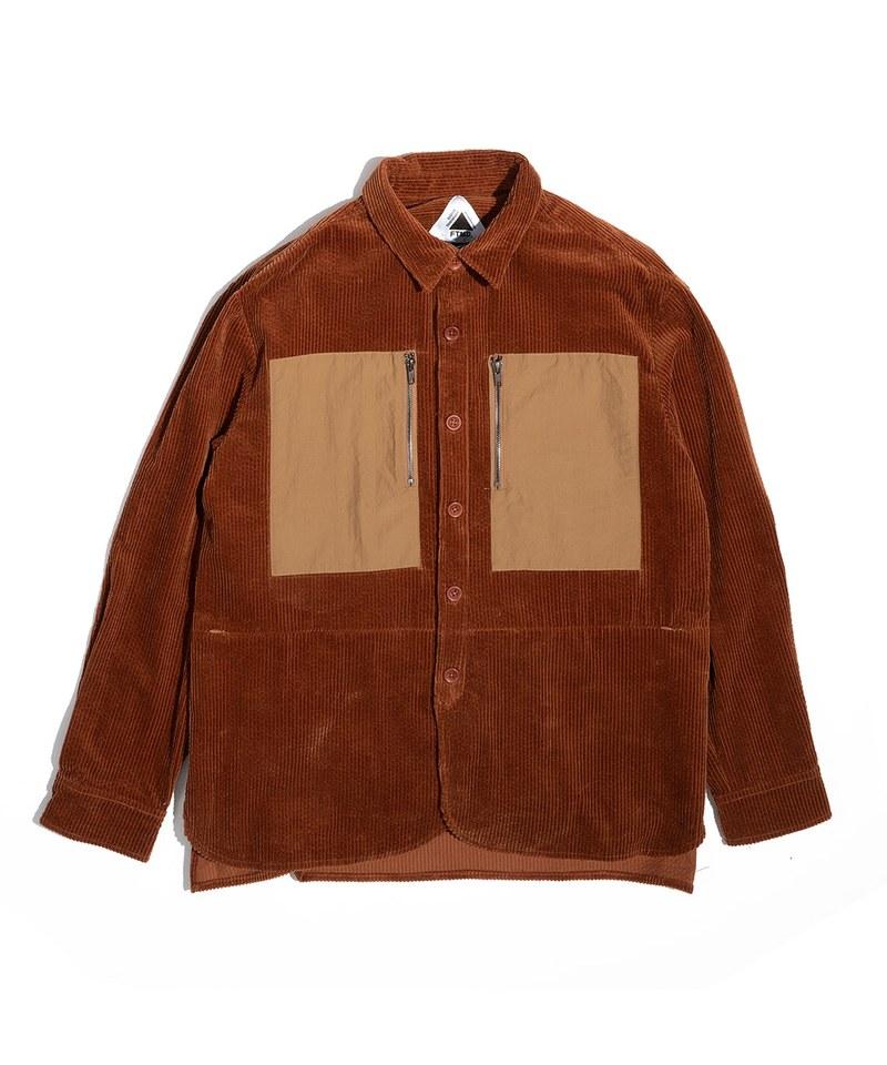 Corduroy Slack Shirt 燈芯絨寬鬆襯衫