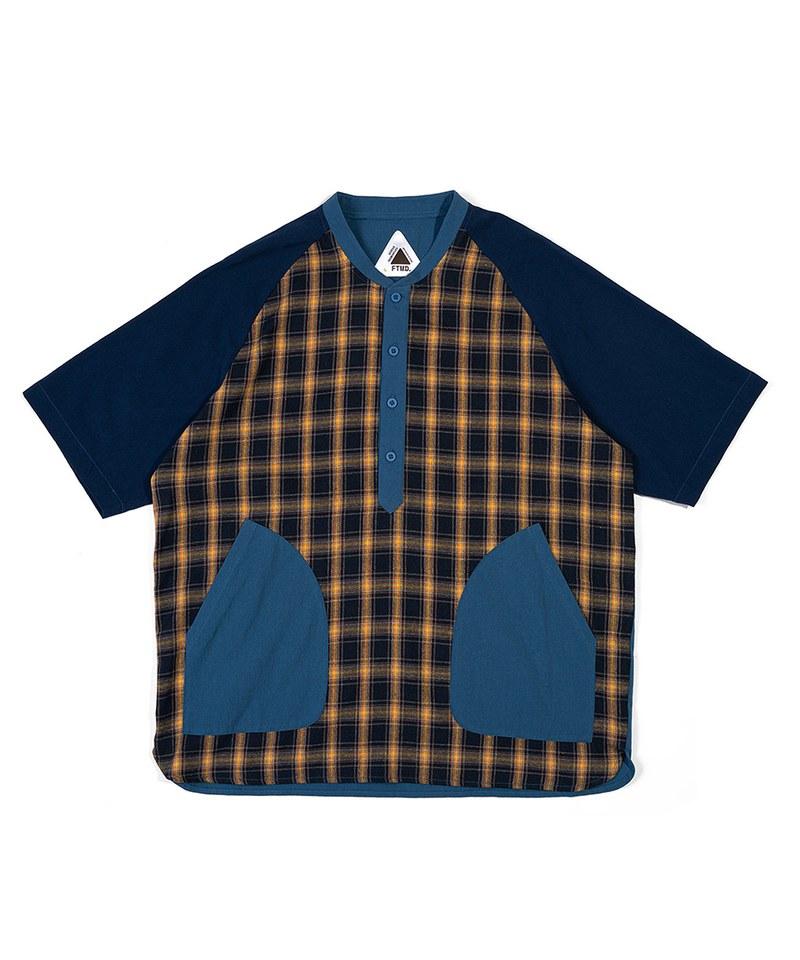 FTM0210 條紋口袋襯衫 RAGLAN CRAZY S/S SHIRT