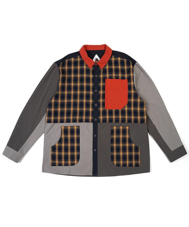 FTM0211 兩穿條紋口袋襯衫 2-WAY CRAZY SHIRT