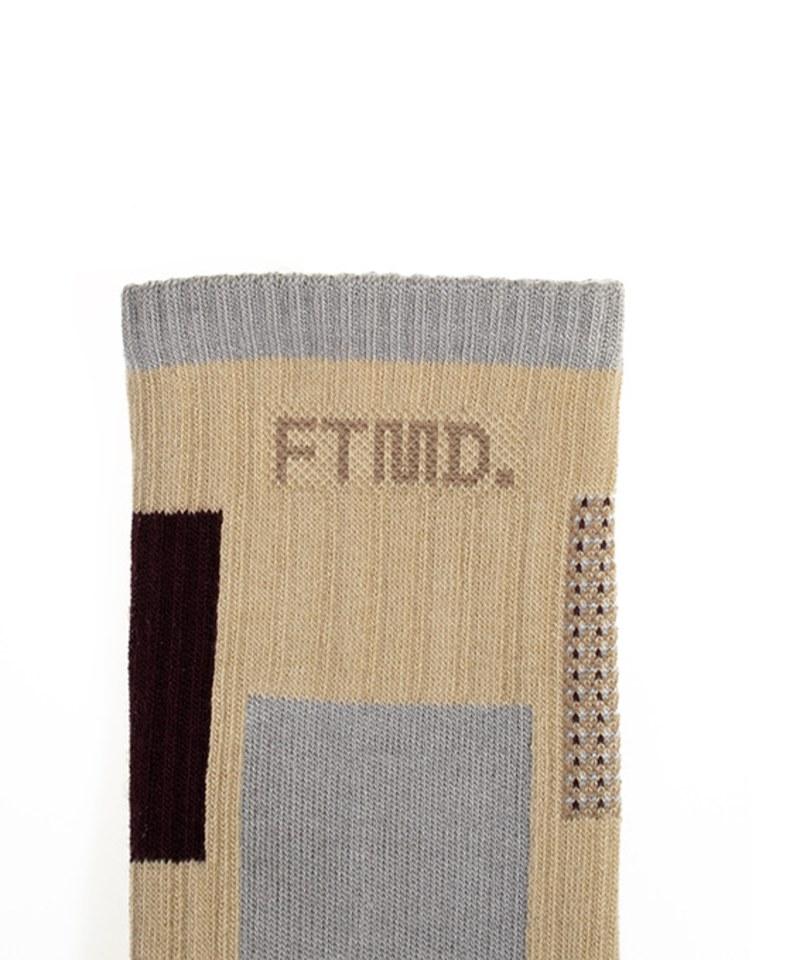 FTM2902 FTMD. Patchwork Socks 拼接長襪