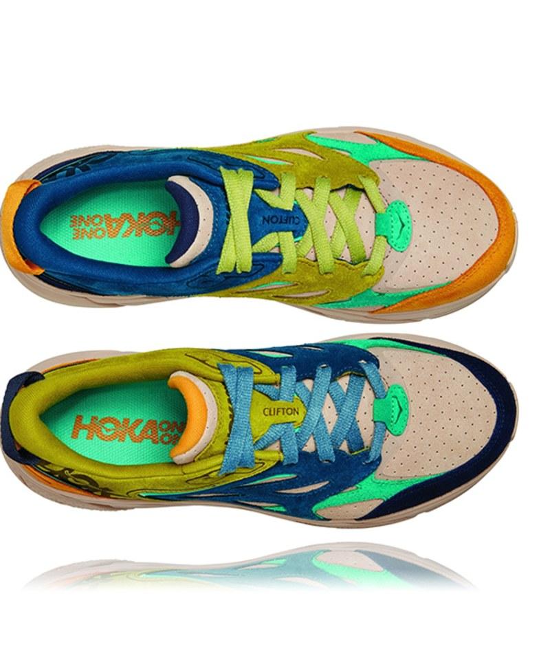 HOKA1915 Clifton L Suede 路跑鞋
