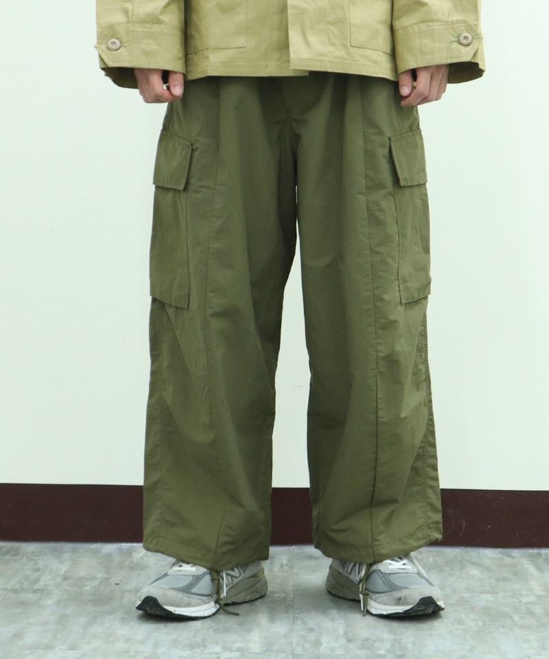 HOU1609 10032 氣球工作長褲 N/C BALLOON CARGO PANTS