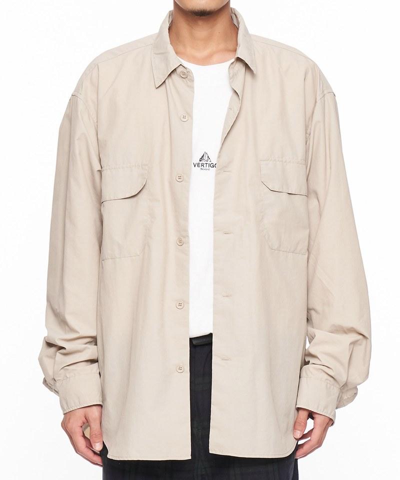 NYLON OX WIDE SH 尼龍寬版襯衫