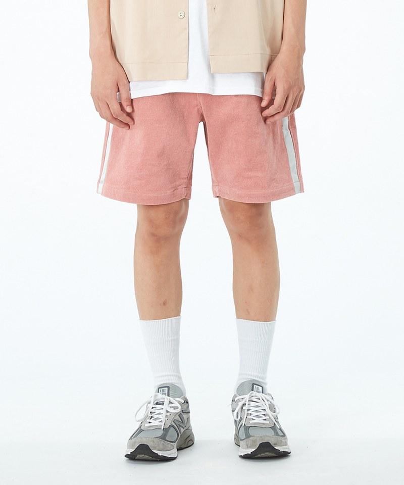 TONY x JS 側織帶休閒短褲