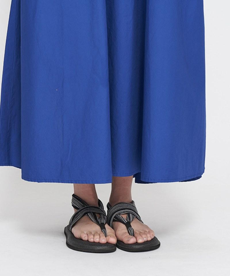 JSD4106 傘狀短袖長洋裝