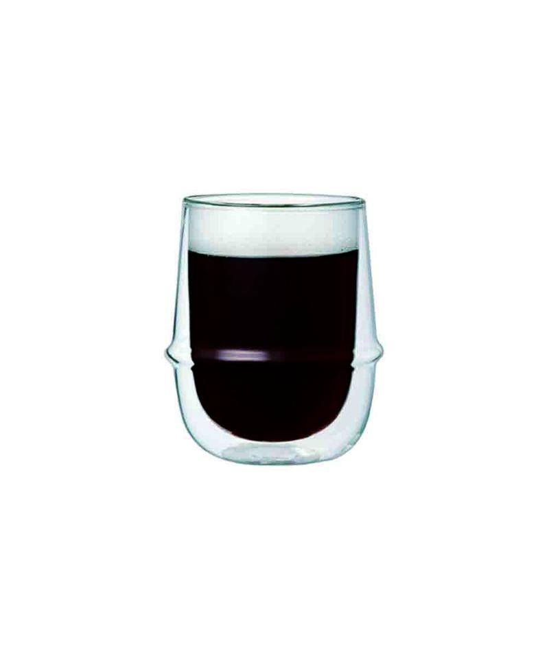 KRONOS雙層玻璃咖啡杯 250ml