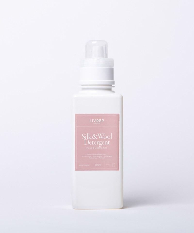 LVR9903 LIVRER  羊毛 & 絲質專用洗衣精 - 玫瑰&柑橘 SILK & WOOL DETERGENT - ROSE & CHAMOMILE - 600ml