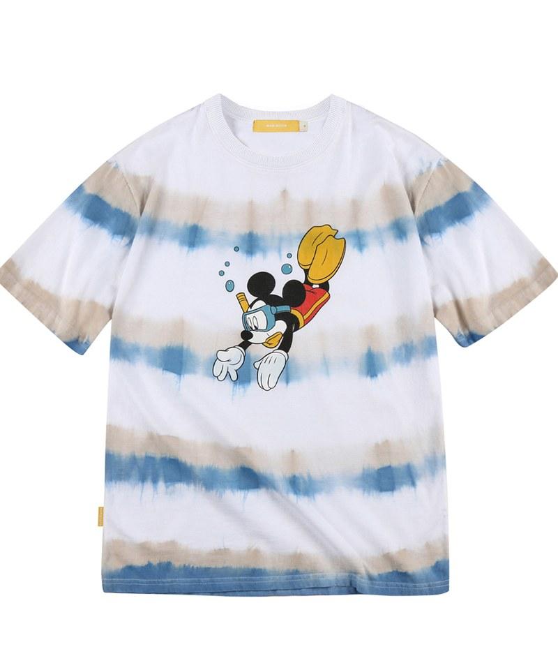 MBT0129 Mickey Mouse Tie-dye T-shirt 米奇圖案短T