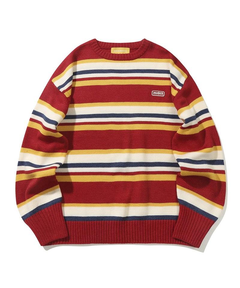 MBT0314 條紋針織毛衣 Jellybean Sweater