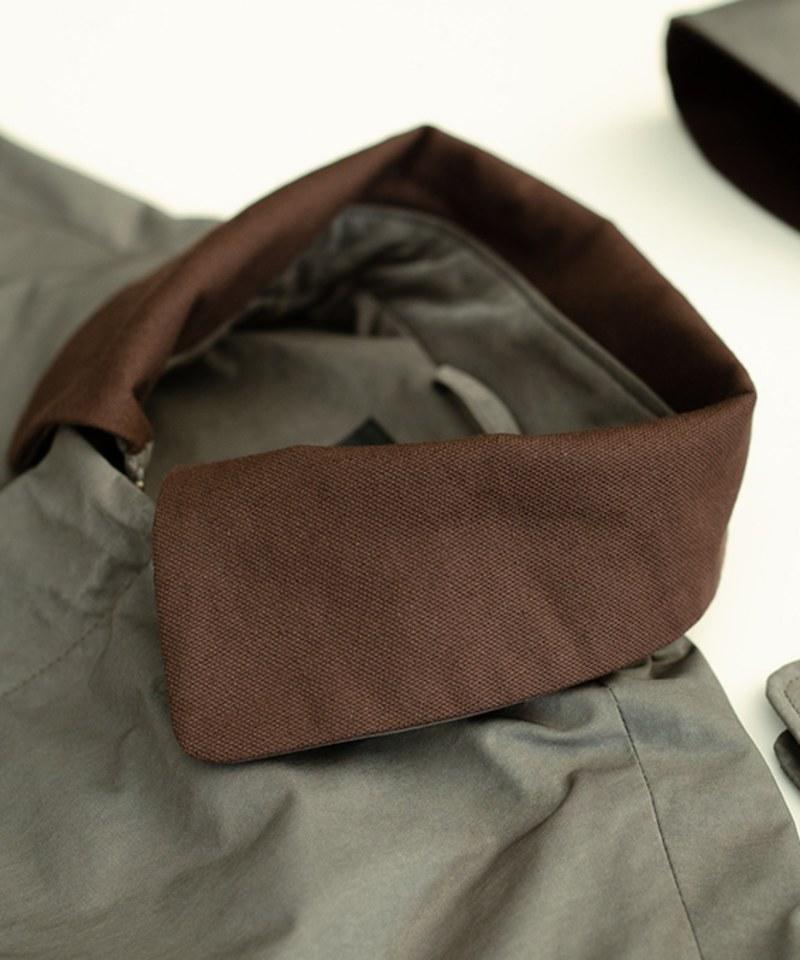 MCM9972 連帽長版軍風大衣