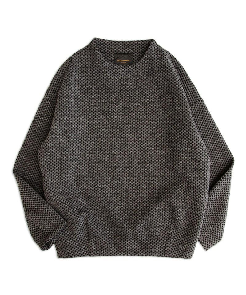 MCM9981 鬆餅針織上衣