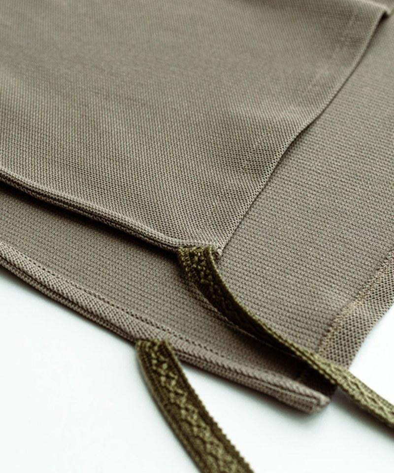 MCM9985 蜂巢針織綁帶背心