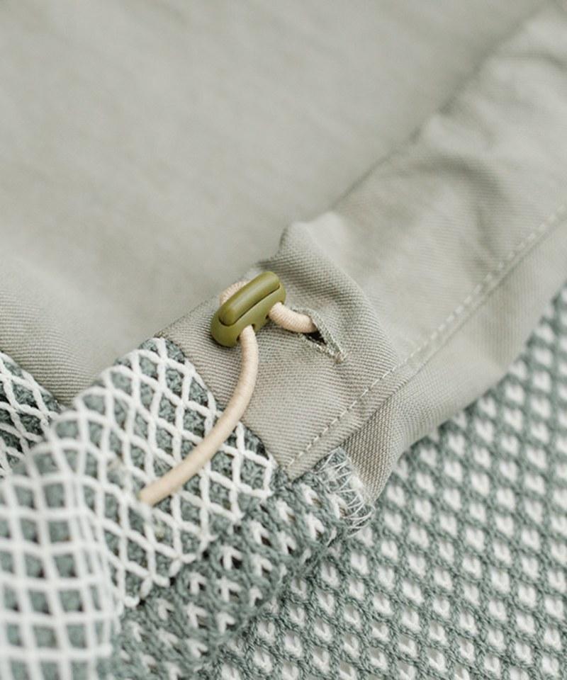 MCM9990 天絲棉漁網織透氣上衣