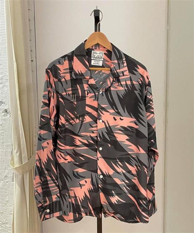 NXS0204 OPEN COLLAR SHIRTS 開領寬鬆襯衫 (附近)