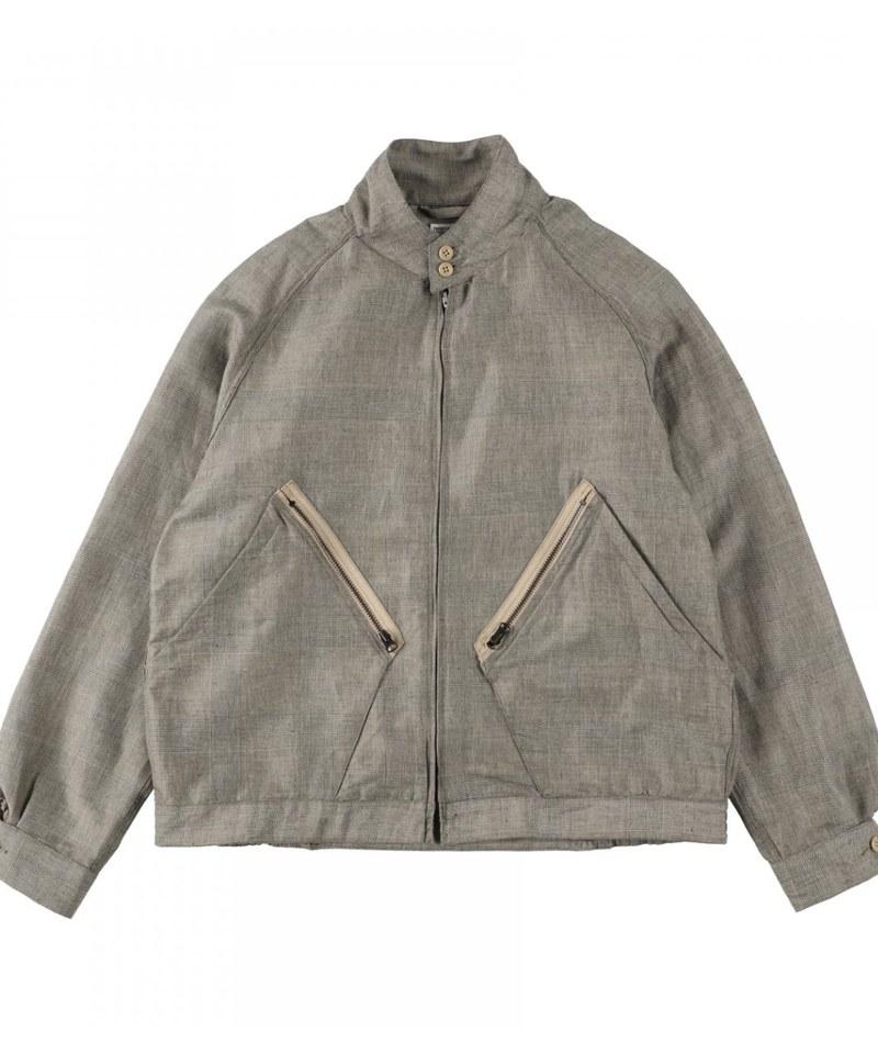NXS1113 H-21 JACKET 哈靈頓格紋外套 (附近)