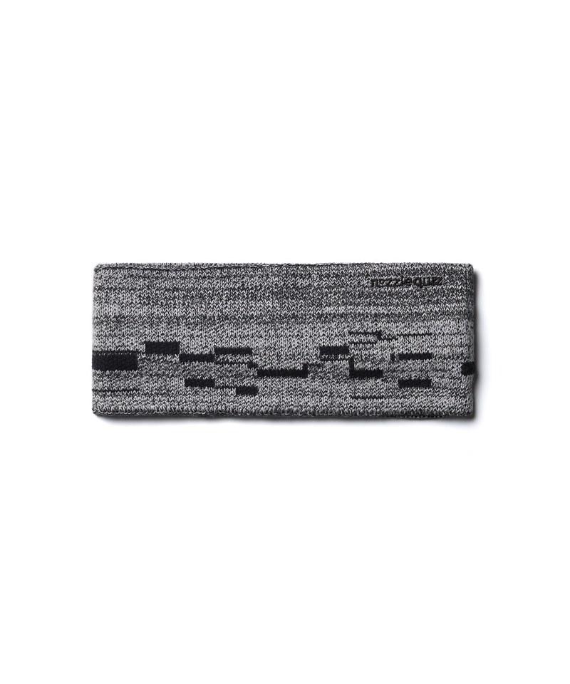 NZQ3903 ionism x nozzle quiz Headband 聯名混色羅紋頭帶