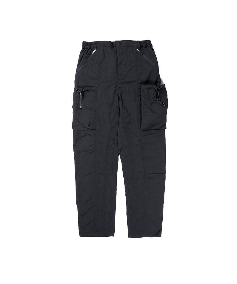 OQQ1608 drawstring pants 大口袋休閒長褲