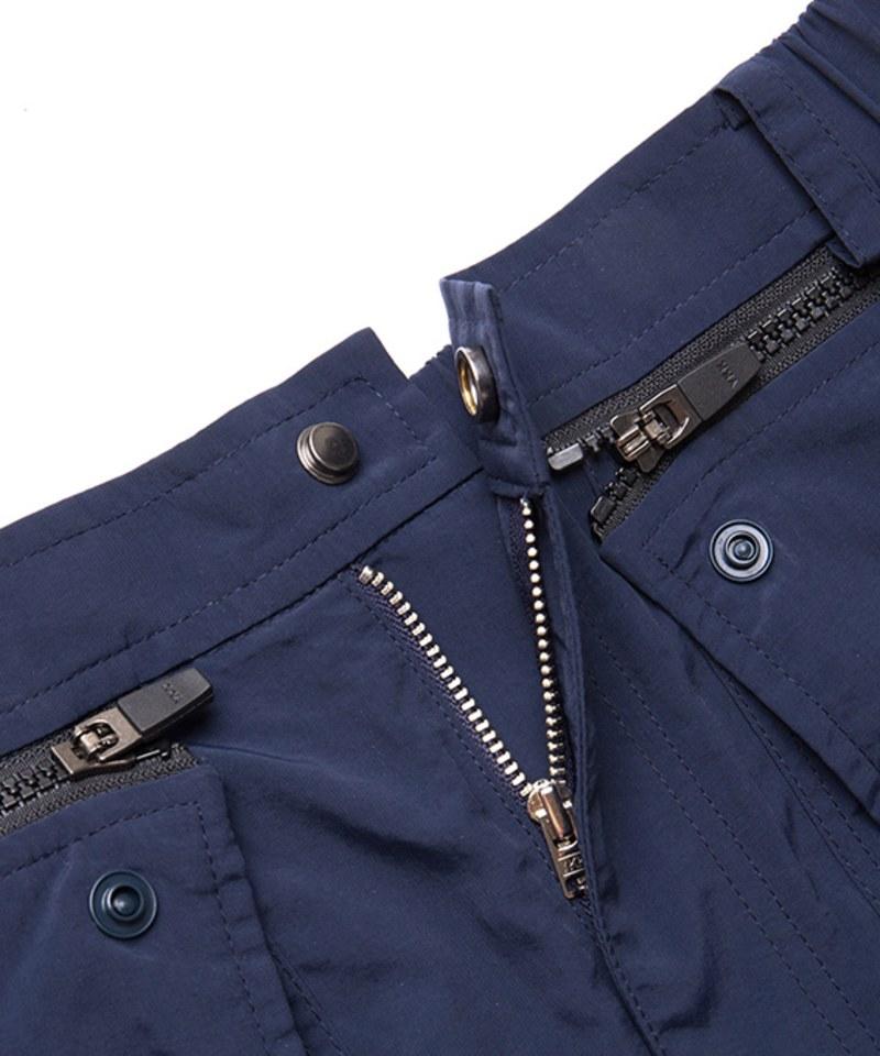 OQQ1609 side two way pants
