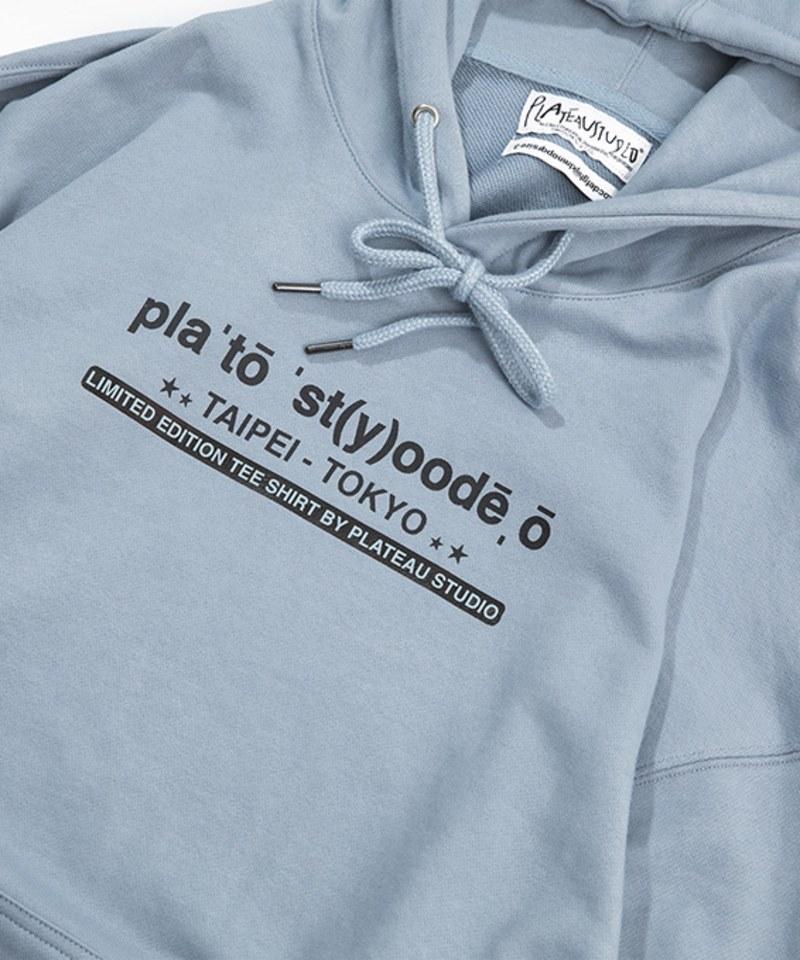PLT9923 2020 logo hoodie 連帽衛衣